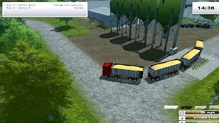 Farming Simulator 2013 - Fliegl Scania mod pack + Fliegl trailers