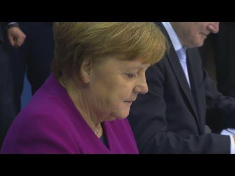 Nach Hessen-Wahl: Merkel gibt Parteivorsitz ab – und will Kanzlerin bleiben