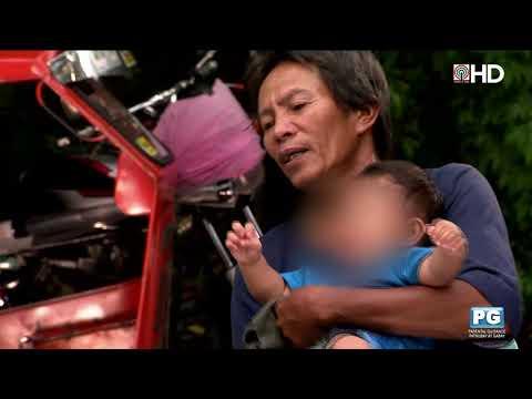 Tricycle driver sa Capiz, dala ang anak habang namamasada