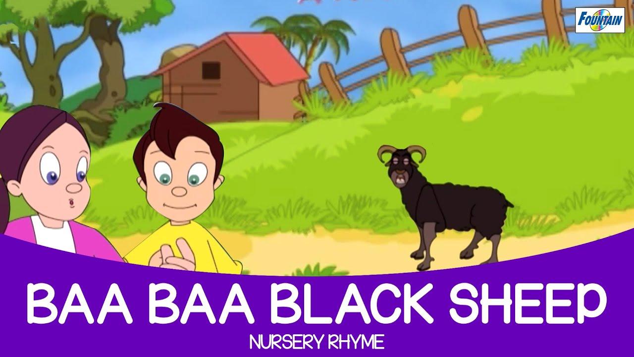 Baa Baa Black Sheep - Nursery Rhyme Full Song ( Fountain ...