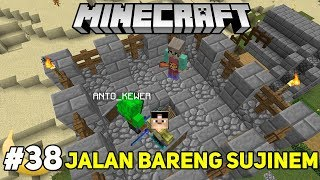 NGAJAK ISTRI ANTO ROOM TOUR MINECRAFT - SURVIVAL MOD #38