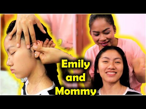 Relaxing Shampoo Head Massage by Mother - Happy Valentine's Day