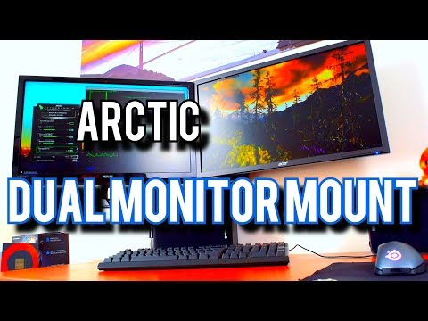 The BEST Dual Monitor Mount From... Arctic??