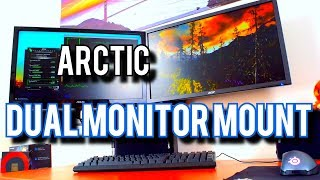 Arctic Z2-3D Review: Dual Monitor Made Easy