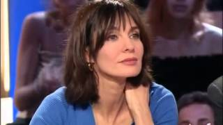Anne Parillaud pour son film Sex is comedy - Archive INA