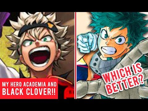 My Hero Academia and Black Clover Manga Artists Draw Each Other's Characters!