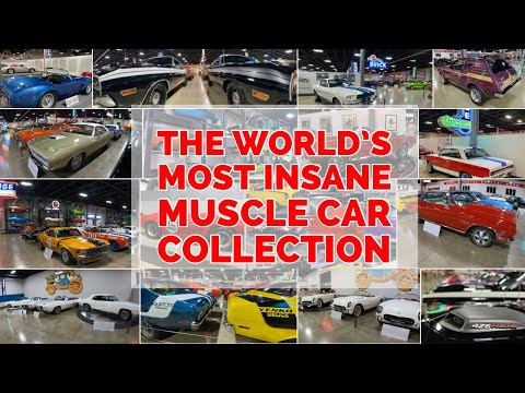 The Worlds Most Insane Muscle Car Collection...