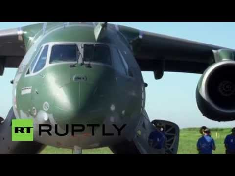 Brazil: Embraer's KC-390 to challenge Lockheed's Hercules?