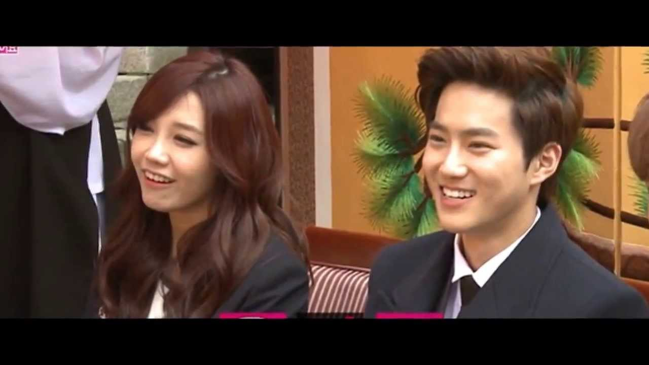 compilation suho amp eunji moments youtube