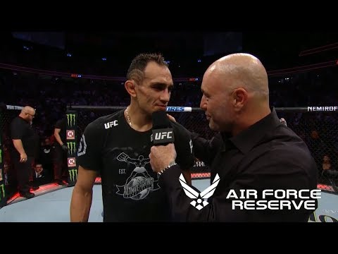 UFC 229: Tony Ferguson & Anthony Pettis Octagon Interviews