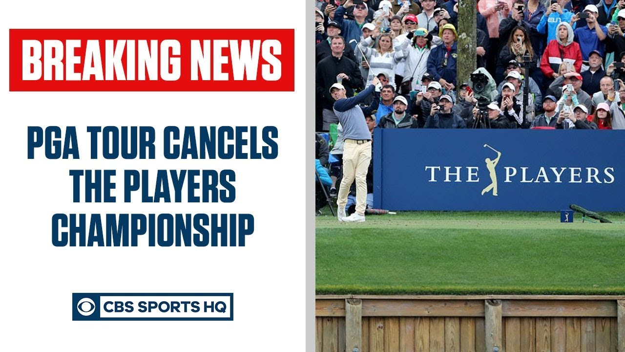 PGA Tour cancels Players Championship after first round