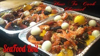 How To Make Seafood Boil At Home Step by Step