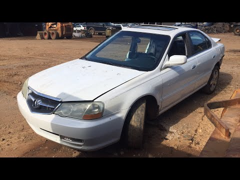 Scrapped Acura TL S-Type