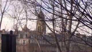 Париж день первый часть 1 (обзорная до Эйфелевой башни)(Париж. Автобусная экскурсия. 30 января 2013 год. +8-10, пасмурно, ветер от сильного до умеренного, от сильного..., 2013-03-04T13:58:49.000Z)