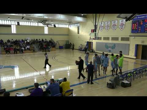 MBKB: 1/6/2019 AACC Riverhawks vs. Garrett College Lakers