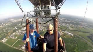 RAGBRAI Hiawatha Hot Air Balloon Flight July 2015