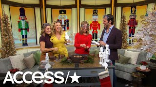 'Fuller House's' Jodie Sweetin & Juan Pablo Di Pace Take The 'Reindeer Games' Nutcracker Challenge!