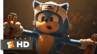 Sonic the Hedgehog (2020) - Sonic's Cave Scene (2/10) | Movieclips