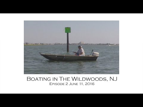 Intracoastal Waterway Boating Wildwoods NJ Episode 2