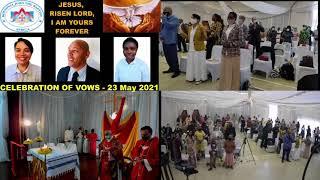 KOINONIA JOHN THE BAPTIST - RELIGIOUS VOWS CELEBRATION - DURBAN 23 May 2021