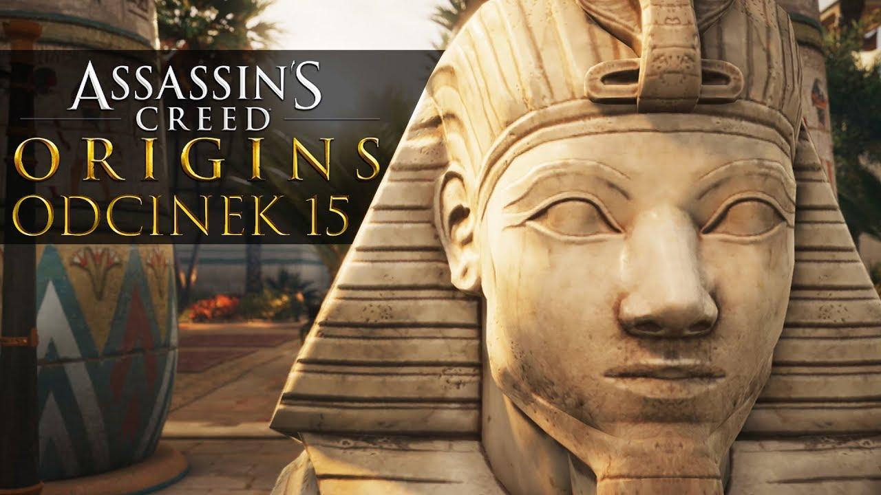 Zagrajmy w Assassin's Creed Origins #15 – ZABÓJSTWO JASZCZURA! – PC 4K