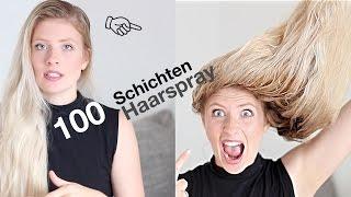100 SCHICHTEN Haarspray  ☞UnPeuDeMoi