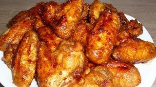 🔴Куриные крылышки в медово соевом соусе  Просто и очень вкусно!🔴