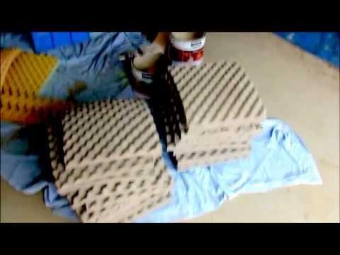 Cheap Sound Proofing // Acoustic Foam // Lee X