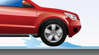 Аквапланирование автомобиля. Как не допустить занос на воде?