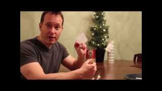Kids Christmas Party Game - Snowflakes on a Plate