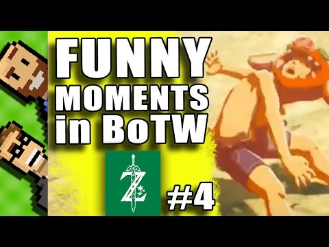 #4 FUNNY MOMENTS in Breath of the Wild | Funny Ragdoll Deaths | Breath of the Wild | The Basement