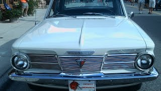 1965 Plymouth Valiant 200 Four Door Sedan Wht TheVillages091716