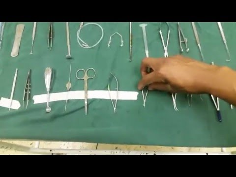 Ophthalmic Surgical Instruments Part1 Dr Saiko Mangombe