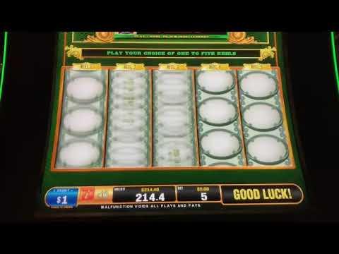 Biggest green machine win
