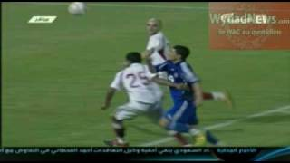 Wydadnews WAC 0 Hilal 1: action du penalty 2017 Video