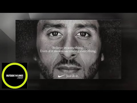 Why Nike decided to take an 'enormous risk' on Colin Kaepernick  Outside The Lines  ESPN
