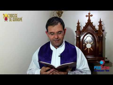Evangelho Diário  - Semana Santa - Segunda Feira - 15/04/19 - Paróquia São Pedro Apóstolo