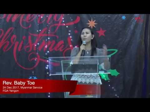Rev. Baby Toe on December 24, 2017 (M)