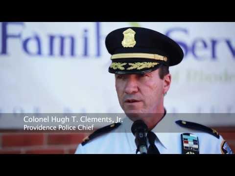 Family Service of Rhode Island Police Partnerships