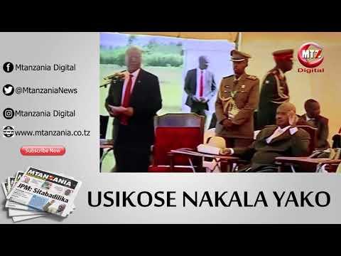 Hotuba ya Rais Magufuli Mpakani mwa Tanzania na Uganda