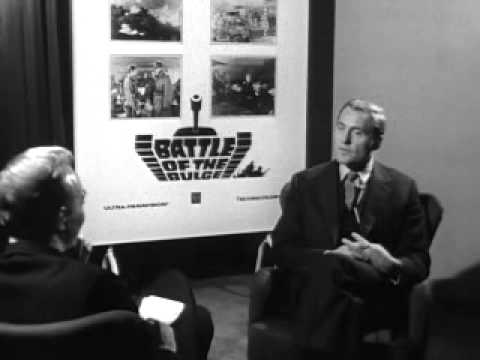 Robert Shaw - Battle Of The Bulge Interview.wmv