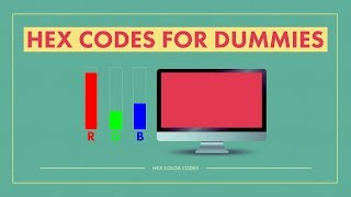 HEX CODE for Dummies (The Non-Technical Guide) (Base-16)
