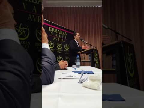 Fatih Erbakan Frankfurt Saadet genelbaskanlik aciklamalari