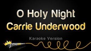 Carrie Underwood - O Holy Night (Karaoke Version)