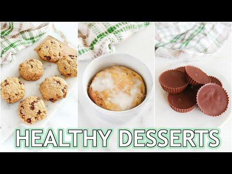 HEALTHY DESSERT RECIPES: keto, low carb, paleo recipes