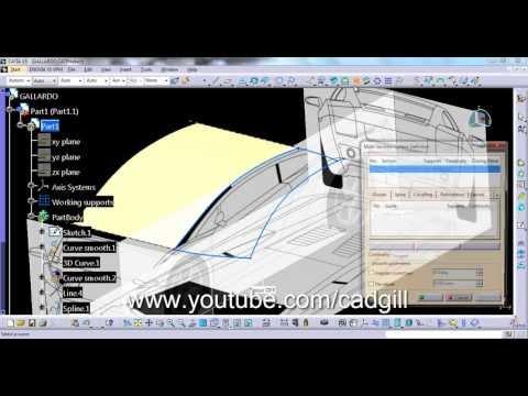 Catia Drafting Generative View Style 활용법 Doovi