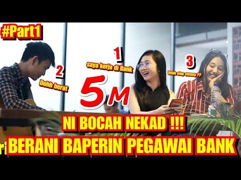 SIAP DI HALALIN !!! NI BOCAH NEKAD BAPERIN PEGAWAI BANK - HALALIN ADEK BANG