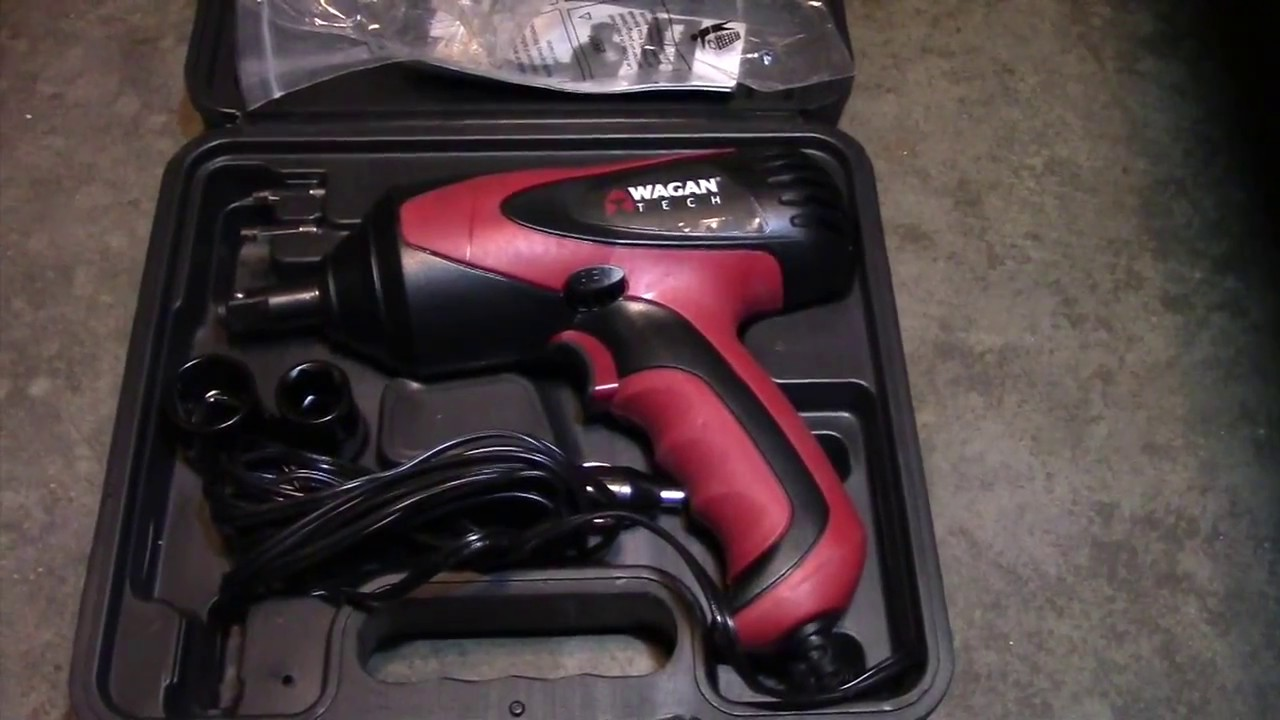 Wagan 2257 12v Impact Wrench Review