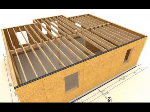 Sip panelen opbouw youtube for Sip floor panels