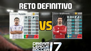 Plantilla al 0% Vs Plantilla al 100% | Es el reto final, es el suicidia :v | Dream League Soccer 17